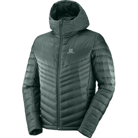 Salomon Haloes Down Hoodie Men green gab